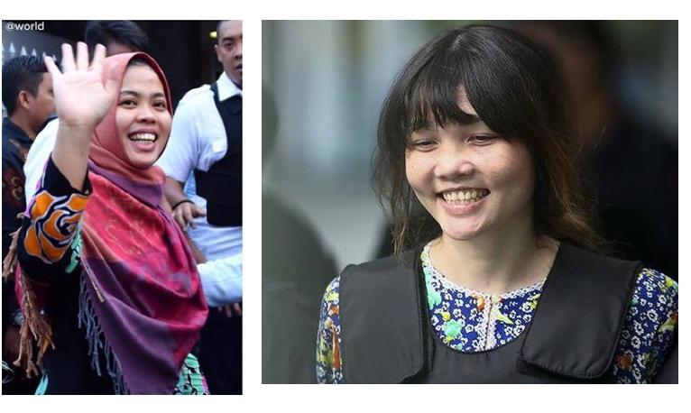 Đoàn Thị Hương và Siti Aisyah