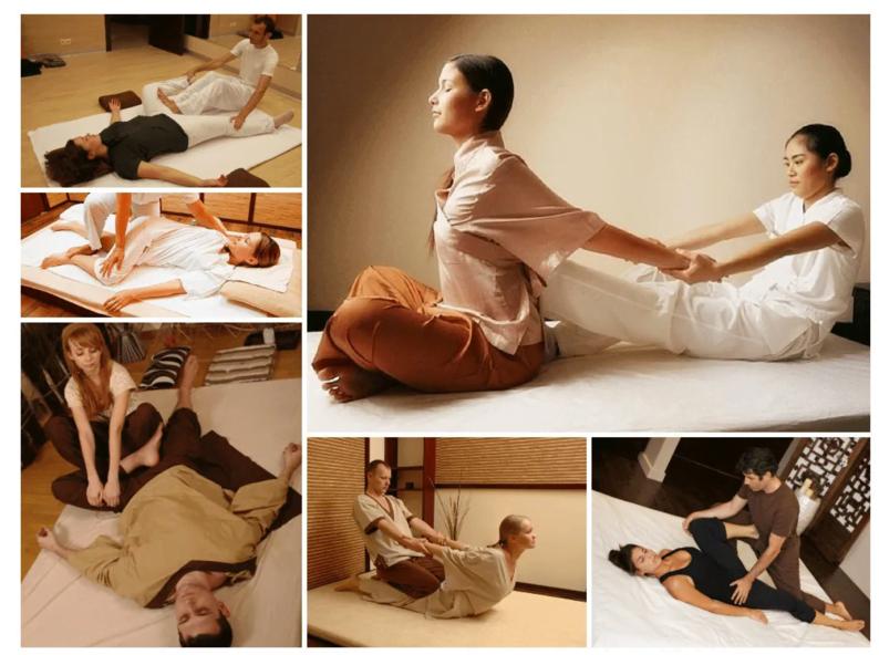 Các động tác Massage Thái