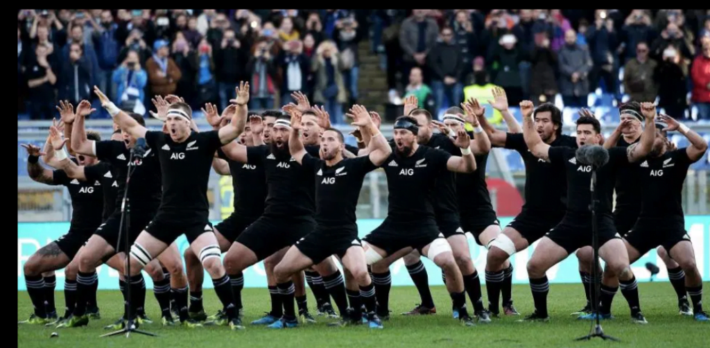 điệu Haka bởi All Blacks